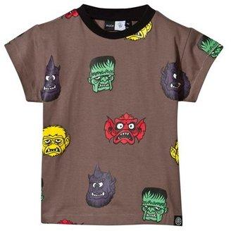 Molo Monster Heads Print Rexo T-Shirt