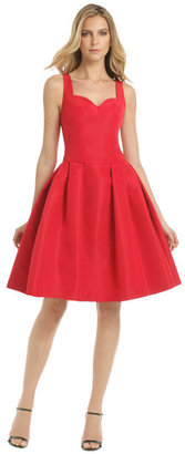 Carolina Herrera Red Metropolitan Club Dress