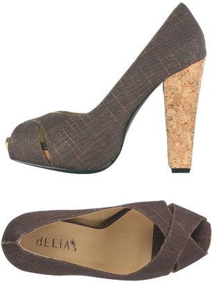 Simona Cork Platform Heel