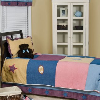 Pam Grace Creations let's play ball 4-pc. quilt set - full/queen