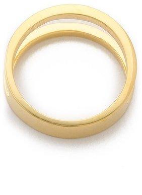 Sarah Chloe Geo Parallel Ring
