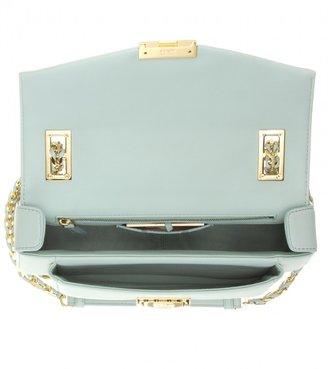 Fendi Mini Be Baguette leather shoulder bag