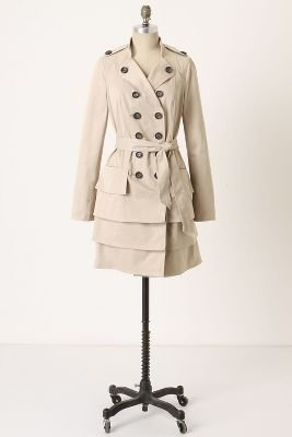 Anthropologie Two Paths Trench