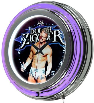 WWE Trademark 14 in. Dolph Ziggler Double Ring Neon Wall Clock