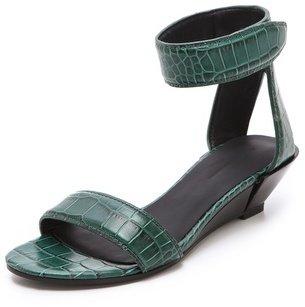 Alexander Wang Vika Demi Wedge Sandals