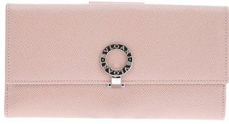 Bulgari snap lock purse