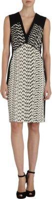 Narciso Rodriguez Jacquard Sheath Dress