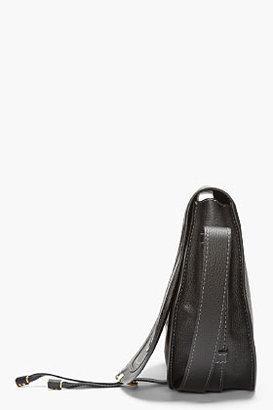 Chloé Black Leather Marcie Satchel