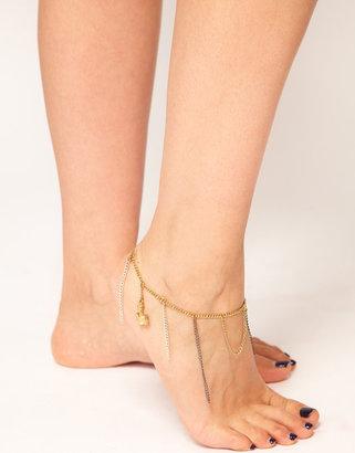 Made Zara Martin For Exclusive To ASOS Gita Anklet