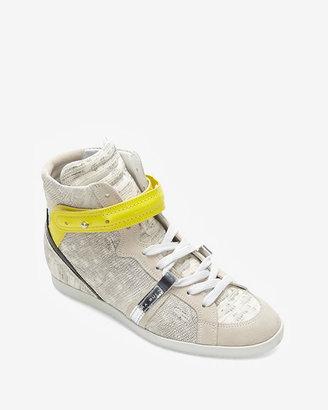 Barbara Bui Leather Sneakers