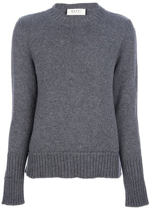 Marni knitted crew neck sweater