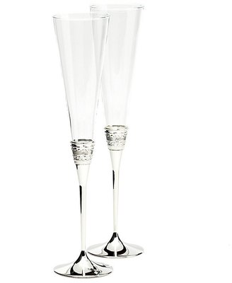 Vera Wang With Love Toasting Flute, Pair