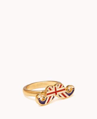 Forever 21 British Mustache Ring