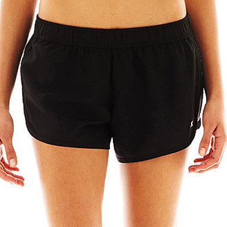 JCPenney Xersion Floral Side-Panel Shorts