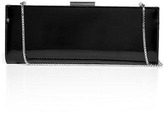 Salvatore Ferragamo Kameron Leather Clutch in Black