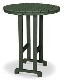 Trex Outdoor Monterey Bay Plastic/Resin Bar Table Trex Outdoor