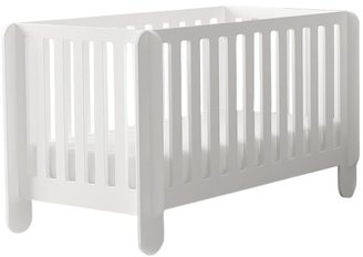 Oeuf Elephant Crib-White