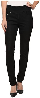 Jag Jeans Nora Pull-On Skinny Knit Denim Jean (Black Rinse) Women's Jeans