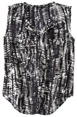 Mossimo Women's Sleeveless Print Top - Assorted Colors
