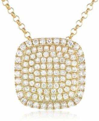 KC Designs Trinkets 14k Gold and Diamond Pave Pendant Necklace