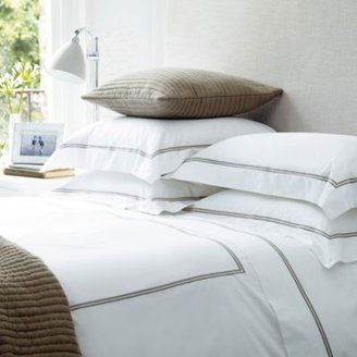 The White Company Portland Taupe Bed Linen