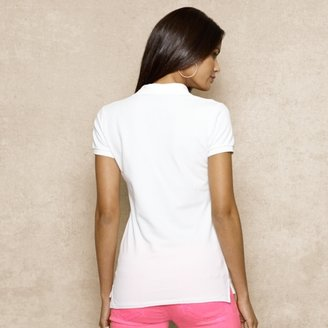 Ralph Lauren Blue Label Long-Placket Polo Shirt