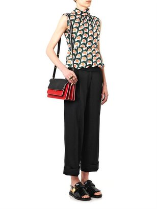 J.W.Anderson Cropped tailored wool trousers