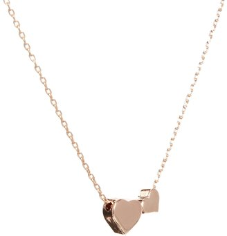 Asos Double Hearts Necklace