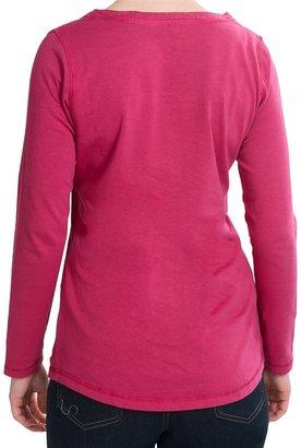 Woolrich First Fork Henley Shirt - Cotton Jersey, Long Sleeve (For Women)