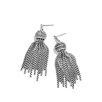 David Yurman Tassel Earrings with Diamonds