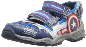 Stride Rite Marvel Captain America Light-Up Sneaker (Toddler/Little Kid)