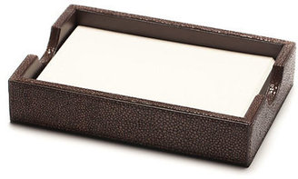 Gump's Graphic Image Shagreen Paper Tray