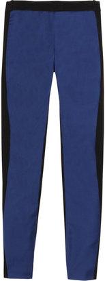 Preen Sonja mid-rise wool-twill skinny pants