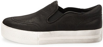 Ash Jungle Platform Skate Sneaker, Black