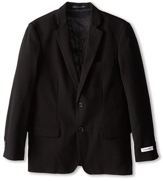 Calvin Klein Kids Suit Jacket (Big Kids) (Black) Boy's Jacket