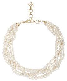 BCBGMAXAZRIA Multi Pearl-Strand Necklace