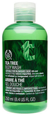 The Body Shop Tea Tree Body Wash 8.45 fl oz (250 ml)