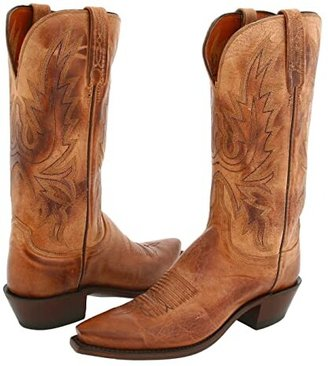 Lucchese N4540 5/4 (Tan Mad Dog Goat) Cowboy Boots