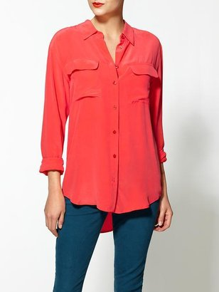Equipment Signature Silk Blouse