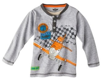Disney® Planes Infant Toddler Boys' Dusty Henley Tee