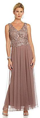 Patra Venice Lace Bodice Dress