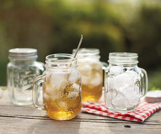 Napa Style Mason Jar Drinking Glasses