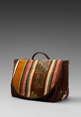 Will Leather Goods Oaxacan Postal Bag