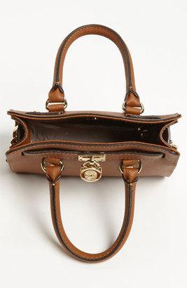 MICHAEL Michael Kors 'Hamilton - Mini' Leather Messenger Bag