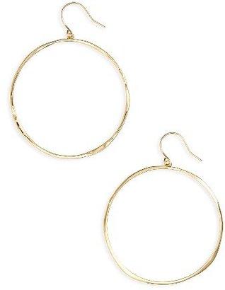 Women's Gorjana G Ring Hoops $60 thestylecure.com