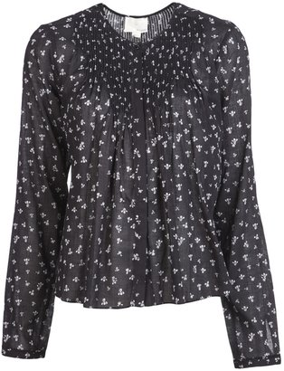 Band Of Outsiders Ditsy floral blouse
