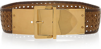 Stella McCartney Pembridge woven faux leather belt