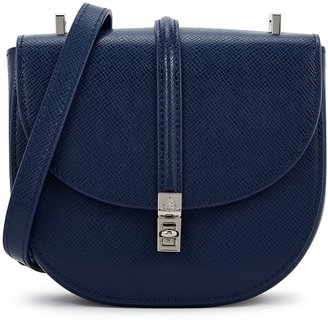 Vivienne Westwood Sofia Mini Blue Leather Cross-body Bag
