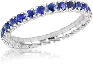 Forzieri Blue Sapphires 18K Gold Eternity Band