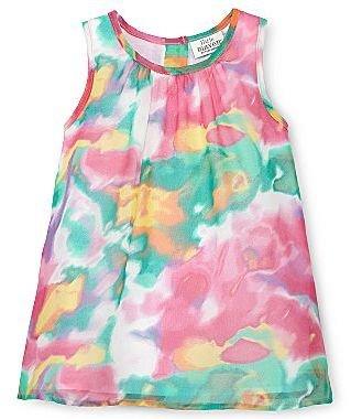 JCPenney Little MavenTM by Tori Spelling Crinkle Dress - Girls 6m-24m